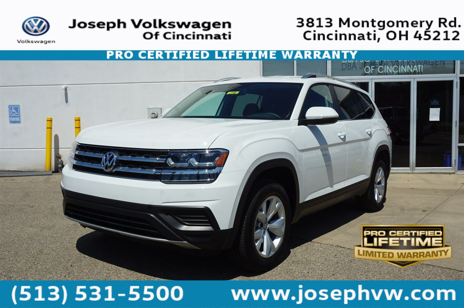 New 2018 Volkswagen Atlas 2.0T S