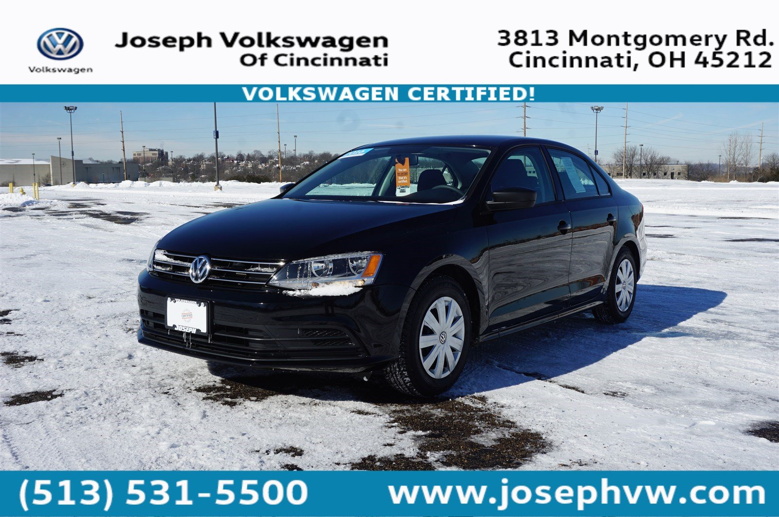 Pre-Owned 2016 Volkswagen Jetta Sedan 1.4T S W/TECHNOLO