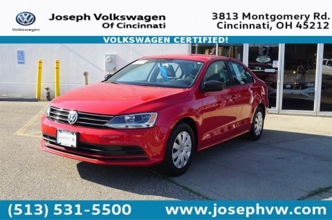 Certified Pre-Owned 2015 Volkswagen Jetta Sedan 2.0L S