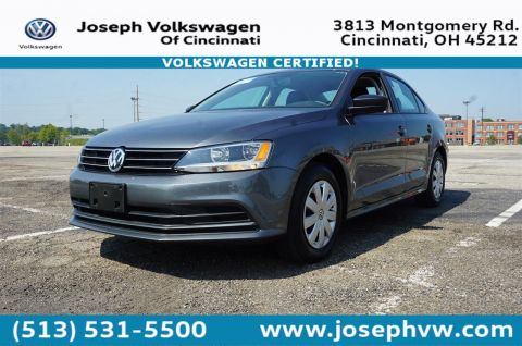 Certified Pre-Owned 2016 Volkswagen Jetta Sedan 1.4T S W/TECHNOLO