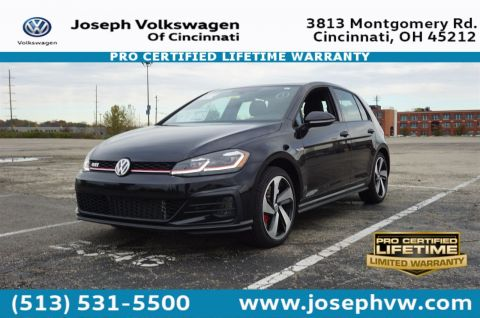 New 2018 Volkswagen Golf GTI SE