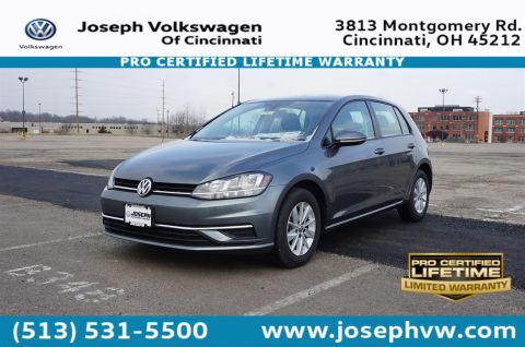 New 2018 Volkswagen Golf S