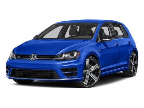 Certified Pre-Owned 2017 Volkswagen Golf R 4DR HB DSG W/DCC/
